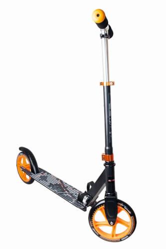 Aluminium Scooter Muuwmi 200 mm schwarz/orange