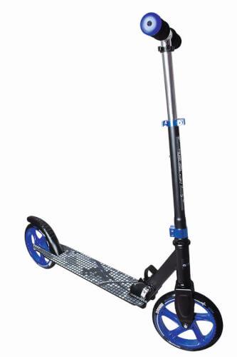 muuwmi Aluminium Scooter 200 mm schwarz/blau