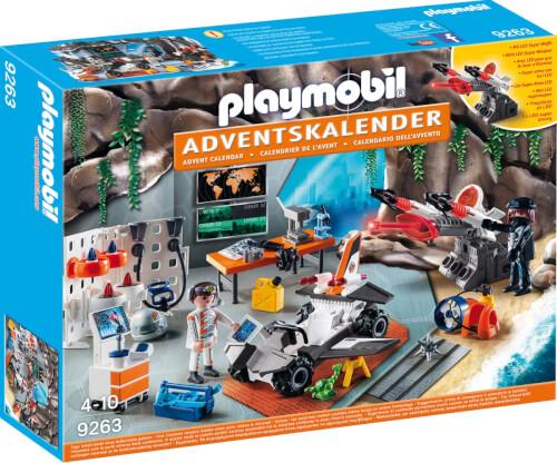 Playmobil 9263 Adventskalender Spy Team Werkstatt