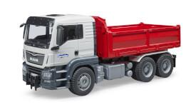 Bruder 03765 MAN TGS Kipp-LKW, ab 3 Jahren, Maße: 51,6 x 18,5 x 25,9 cm, Plastik & Kunststoff