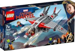 LEGO® Marvel Super Heroes 76127 Captain Marvel und die Skrull-Attacke, 307 Teile, ab 7 Jahre