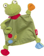 Sigikid 39148 Schnuffeltuch Flecken Frog
