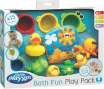 Playgro Badespielzeug-Geschenkset, 15-teilig