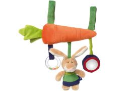 Sigikid 41866 Anhanger Hase bunt Blue Coll.