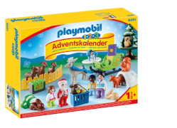 Playmobil 9391 1.2.3 Adventskalender ''Waldweihnacht der Tiere