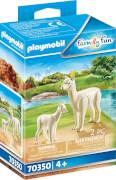 PLAYMOBIL 70350 Alpaka mit Baby