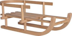 Puppen-Schlitten Holz, Länge 46 cm, Breite 20 cm