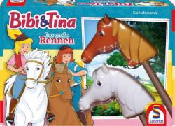 Schmidt Spiele 40577 Bibi & Tina Das große Rennen, ab 2 Spieler, ab 5 Jahre