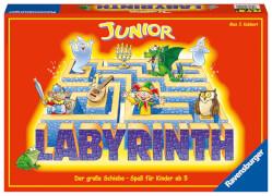 Ravensburger 212101  Junior Labyrinth, Kinderspiel