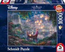 Schmidt Puzzle 59480 Thomas Kinkade Disney Rapunzel, 1000 Teile, ab 12 Jahre