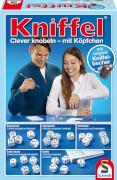 Schmidt Spiele 49030 Kniffel mit Lederwürfelbecher, 2 bis 8 Spieler, ab 8 Jahre