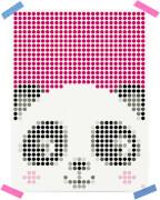dot on art - DIY-Klebeposter, Bastelset, Stickerset - Motiv: Panda, 30x40 cm