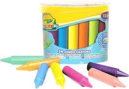 Crayola Mini Kids Wachsmalstifte Jumbo 24 Stück
