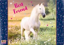 Die Spiegelburg 14567 Pferdefreunde - Schreibtischauflage Best Friend