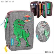 Depesche 10301 Dino World 3-fach Federtasche