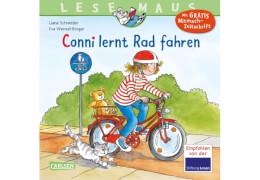 Lesemaus - Band 71: Conni lernt Rad fahren, Taschenbuch, 24 Seiten, ab 3 Jahren