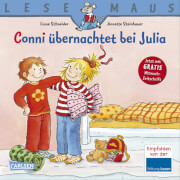 Lesemaus - Band 115: Conni übernachtet bei Julia, 24 Seiten, ab 3 Jahre