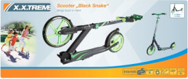 XXtreme Scooter Black Snake, 250 mm