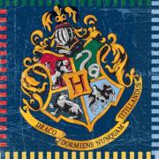 Harry Potter Servietten 33x33 cm 16 Stück
