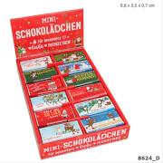 Depesche 8624 Fröhliche Weihnachtsgrüße Schokolade, 12,5g