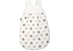 Schlafsack Sterne latte, Größe 110 cm